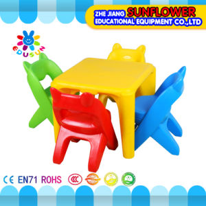 Plastic Student Table and Chair for Preschool pictures & photos