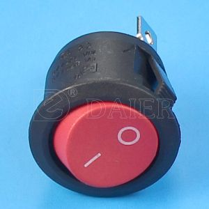 CQC CE on-on Round Rocker Switch pictures & photos