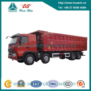 Sinotruk HOWO A7 8X4 Front Lift Dump Truck pictures & photos