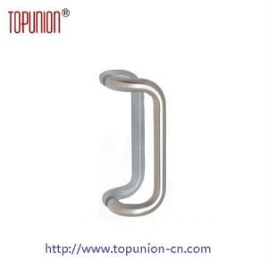 Stainless Steel 304 Tube Glass Door Offset Pull Handle (pH005) pictures & photos