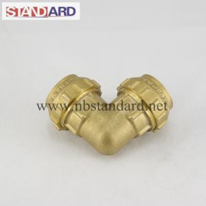 Brass PE Equal Elbow Fitting pictures & photos