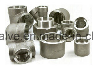 Forged Steel High Pressure Socket Welded/NPT 45 Degree Elbow pictures & photos