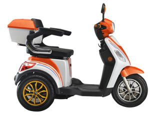 "Three Wheels 16"" Big Power Electric Mobility Scooter Emw35 pictures & photos"