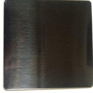 201/314/316 Satin Finish Ti-Black Stainless Steel Sheet