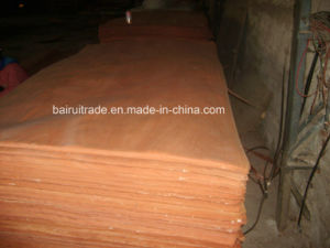 0.3mm Face Wood Veneer for Making Plywood pictures & photos