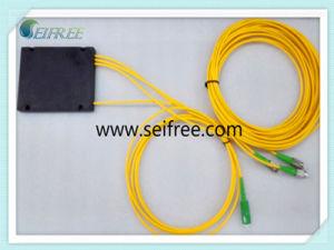 1*3 Single Mode Optical Fiber Splitter with SA/Fa Connector pictures & photos