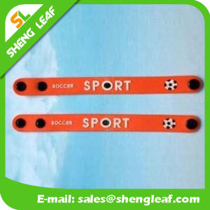 Hot Sale Kids Plastic Rubber Wristband pictures & photos