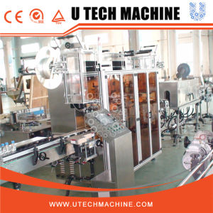 Water Bottle Shrink Sleeve Labeling Machine pictures & photos