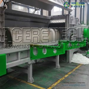 Single Shaft Plastic Shredder Machine pictures & photos