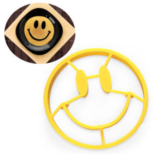 Smiley Face Shape Cooking Silicone Egg Mold