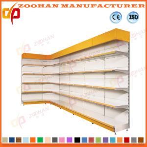 Single Side Corner Supermarket Display Stand Store Shelf (ZHS657) pictures & photos