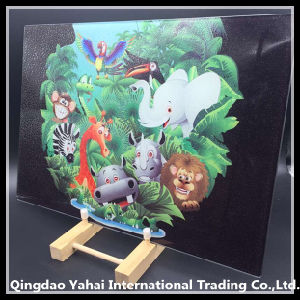 4mm Colored Glass Tempered Placemat pictures & photos