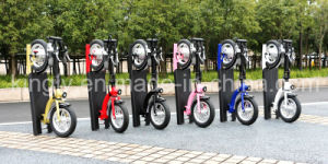 300W New Portable Alloy Foldable Electric Scooter pictures & photos