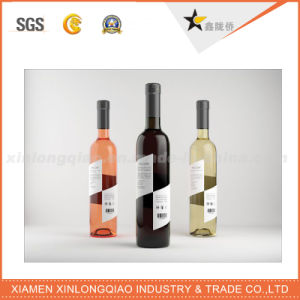 Wholesale Custom Adhesive Bottle Paper Label pictures & photos
