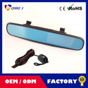 "2.7""LCD Car DVR Video Rearview Mirror Recorder Night Vision HD Camera Tachograph pictures & photos"