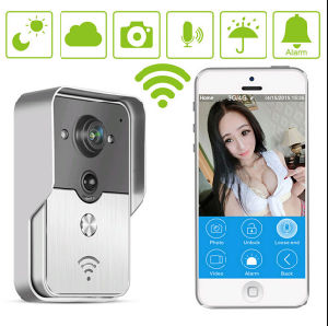 Waterproof Video Door Phone WiFi Doorbell/ Full Duplex Audio IP WiFi Doorbell Support Smart Phone Unlock