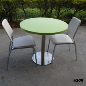Round Furniture Marble Restaurant Dining Table for Sale pictures & photos