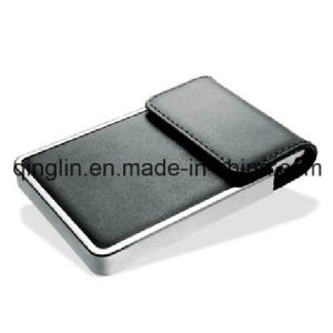 Superior Quality Leather and Aluminium Fashion Business Card Case (QL-MPH-0003) pictures & photos