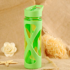 580ml Drink Bottles Eco-Friendly Protein Powder Shaker Botella Sport-Food pictures & photos