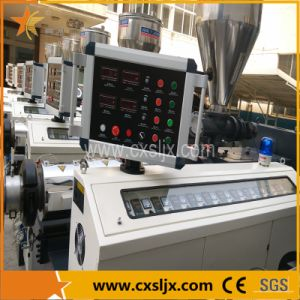 PVC Sealing Window Profile Granules Conical Twin Screw Extruder Ce Certificate pictures & photos