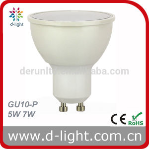 CE RoHS Ra>80 PF>0.5 SMD2835 120 Degree Plastic Aluminum GU10 7W LED Spotlight pictures & photos