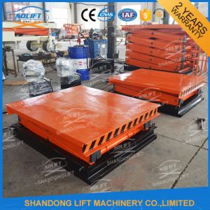 Mobile Scissor Type Hydraulic Lift Table with Ce pictures & photos