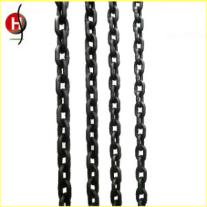 Grade 80 20mn2 Material Lifting Chain with Black Surface Treatment pictures & photos