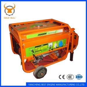 GB3000 Portable Gasoline Generator (GB-series) Moving Generator