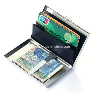 Wholesale Travel Passport Credit Card Holder, Metal Card Case pictures & photos