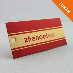 Paper Hang Tag/Swing Tag for Clothing/Garment/Shoes pictures & photos