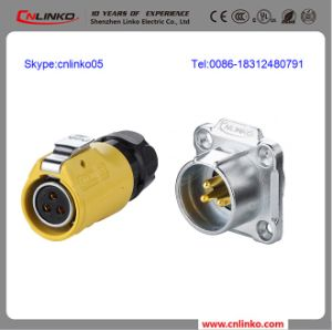 Circular Cable Power Waterproof Connector (M20 LP-20 series) pictures & photos