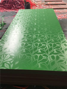 High Gloss Red Color UV Coating Board / UV High Glossy MDF Board pictures & photos