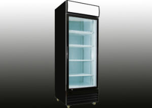 Glass Hinged Door Upright Display Cooler pictures & photos