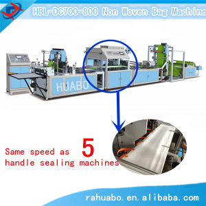Economic High Speed Nonwoven Fabric Bag Forming Machine Machine pictures & photos