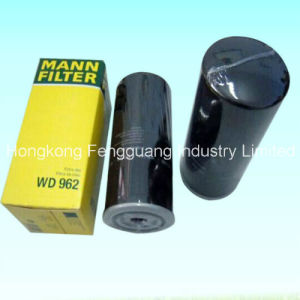 Mann W962 Engine Parts Oil Filter Air Compressor Oil Filter pictures & photos