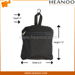 Foldable Wateproof Sporting Lightweight Hiking Travel Backpack with Reflective Strip pictures & photos