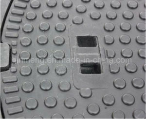 Composite Manhole Cover En124 D400 with SGS Certificate pictures & photos