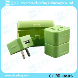 USB Charger Universal Travel Plug Adapter (ZYF9003) pictures & photos