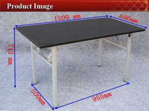 Foldable Melamine Conference and Meeting Table Furniture for Sale (YC-T100-6) pictures & photos