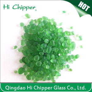 Green Colored Swimming Pool Decorative Glass Beads pictures & photos