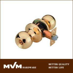 High Quality Cylinder Door Tubular Knob Lock (607) pictures & photos