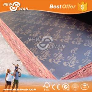 Building Material Waterproof Film Faced Shuttering Plywood (Concrete Formwork) pictures & photos
