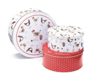 Round Cookies Tin Box with Custom Printing pictures & photos