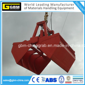 Electro Electric Motor Hydraulic Cement Coal Grain Grab Grapple pictures & photos