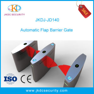 LED Optical Turnstiles Flap Barrier Gate with Organic Glass Wing pictures & photos