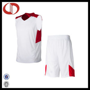 100% Polyester Dry Fit Custom Logo Basketball Uniform for Boys pictures & photos