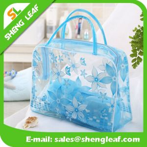 Best Selling Colorful Clear PVC Cosmetic Bag with Custom Print pictures & photos
