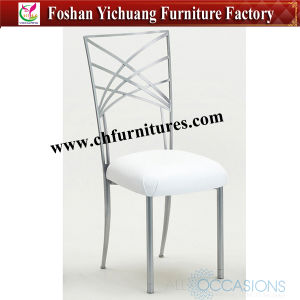 2016 New Design Silver Iron Chiavari Chair for Wedding and Banquet Yc-A105-01 pictures & photos