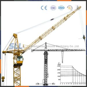 Tower Crane Dwg/Tower Crane Boom Length/Luffing Tower Crane pictures & photos