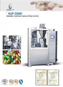 Njp-400 Full Automatic Capsule Filling Machine for Pellet (Passed CE Certifiction) pictures & photos